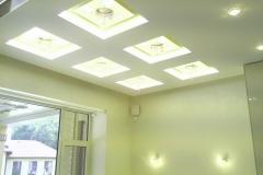 Светодиодная подсветка кабинета хозяина дома конечный результат