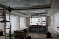 Светодиодная подсветка бассейна монтаж гипсокартонного потолка и прокладка электропитания