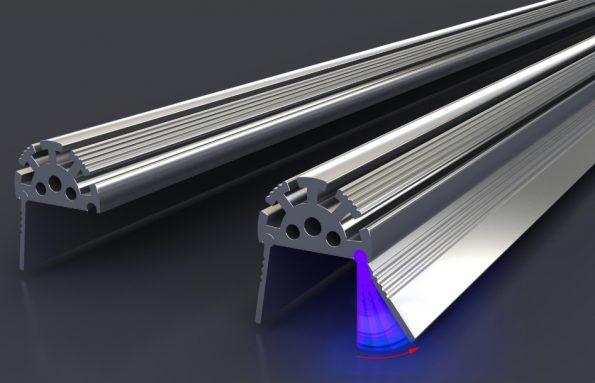 LED профиль для магазинов
